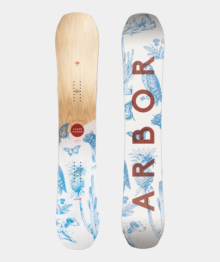 Placa snowboard femei Arbor Swoon Camber 2019