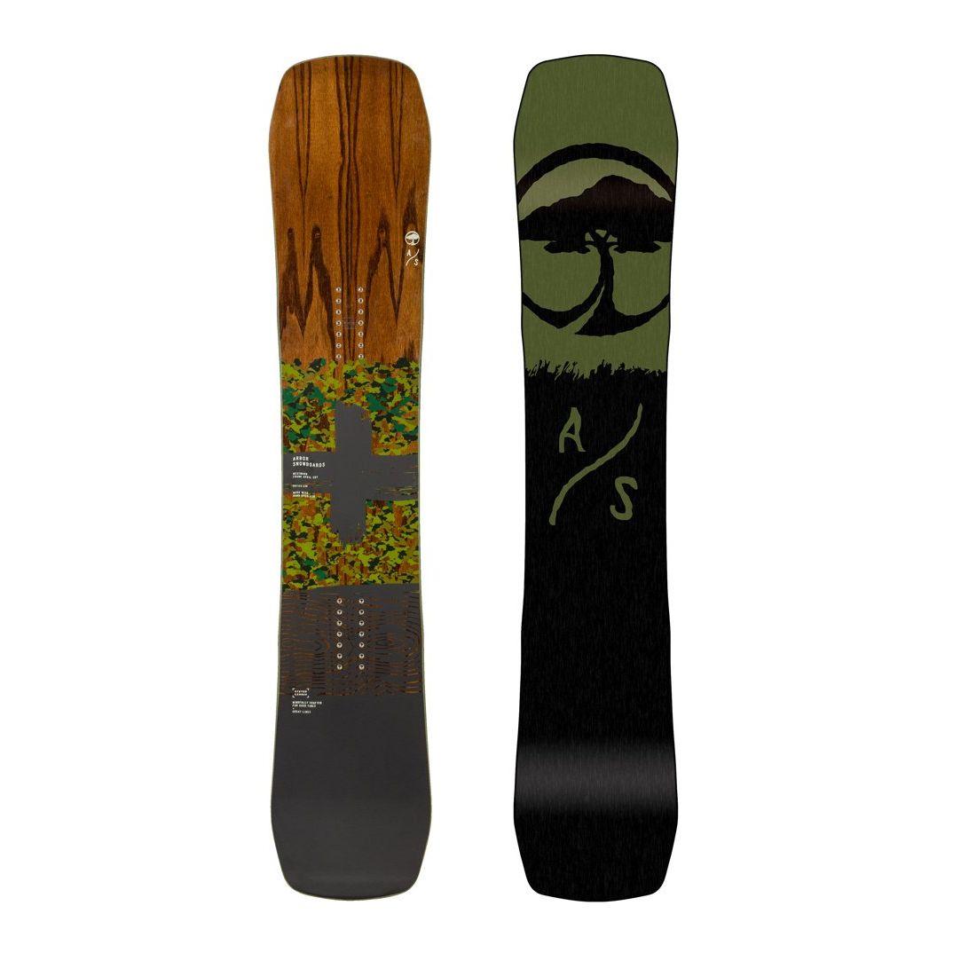 Placa snowboard Unisex pentru Freestyle/All Mountain Arbor Westmark Frank April Edition Camber 2020