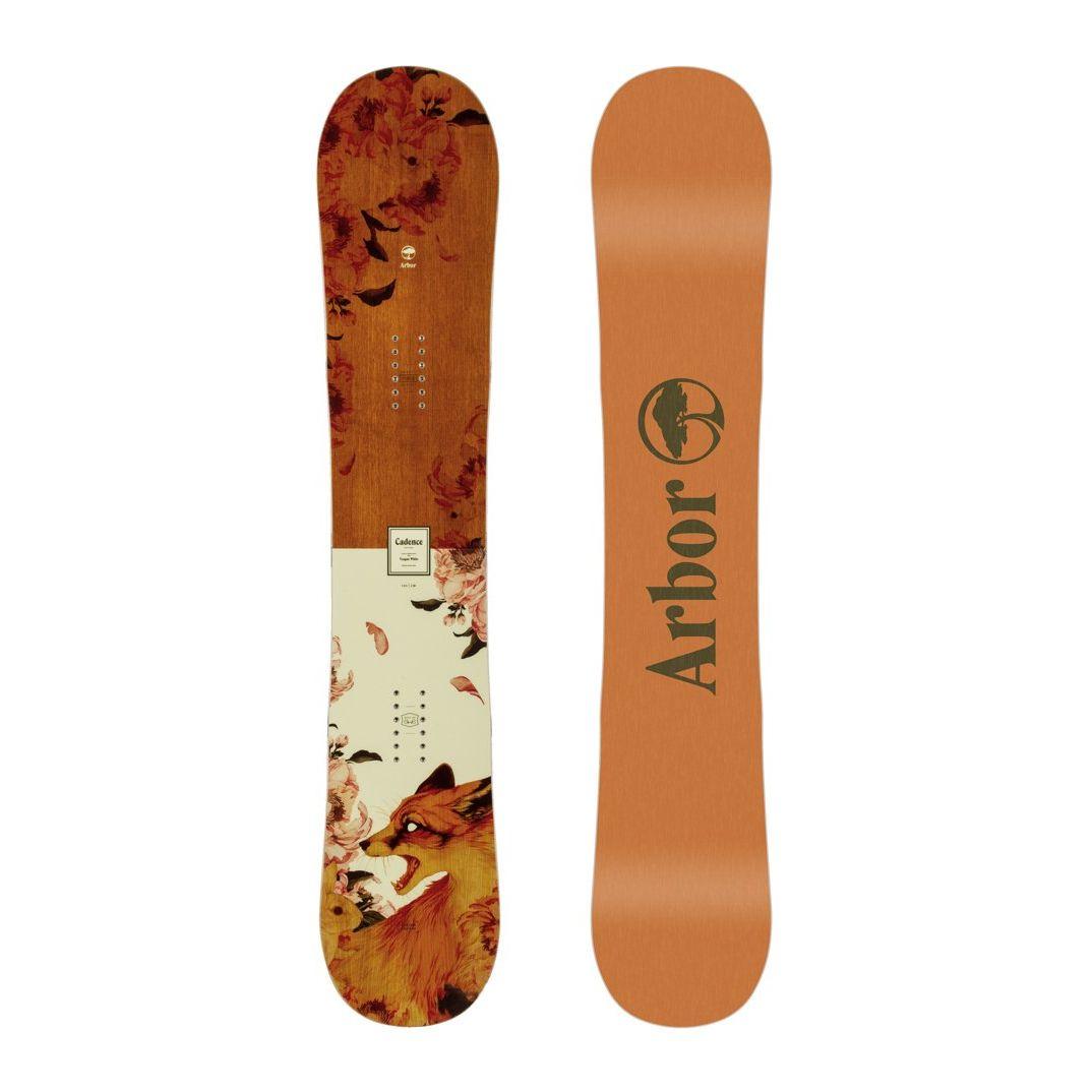 Placa snowboard Femei pentru Freestyle/All Mountain Arbor Cadence Rocker 2020
