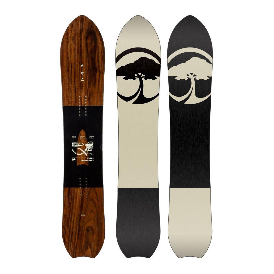 Placa snowboard Unisex pentru All Mountain/Freeride Arbor Clovis Camber 2020