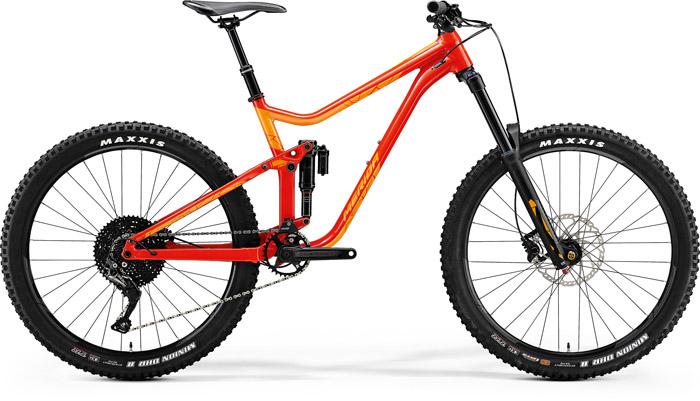 Bicicleta de munte pentru barbati Merida One-Sixty 600 Rosu(Mango) 2018