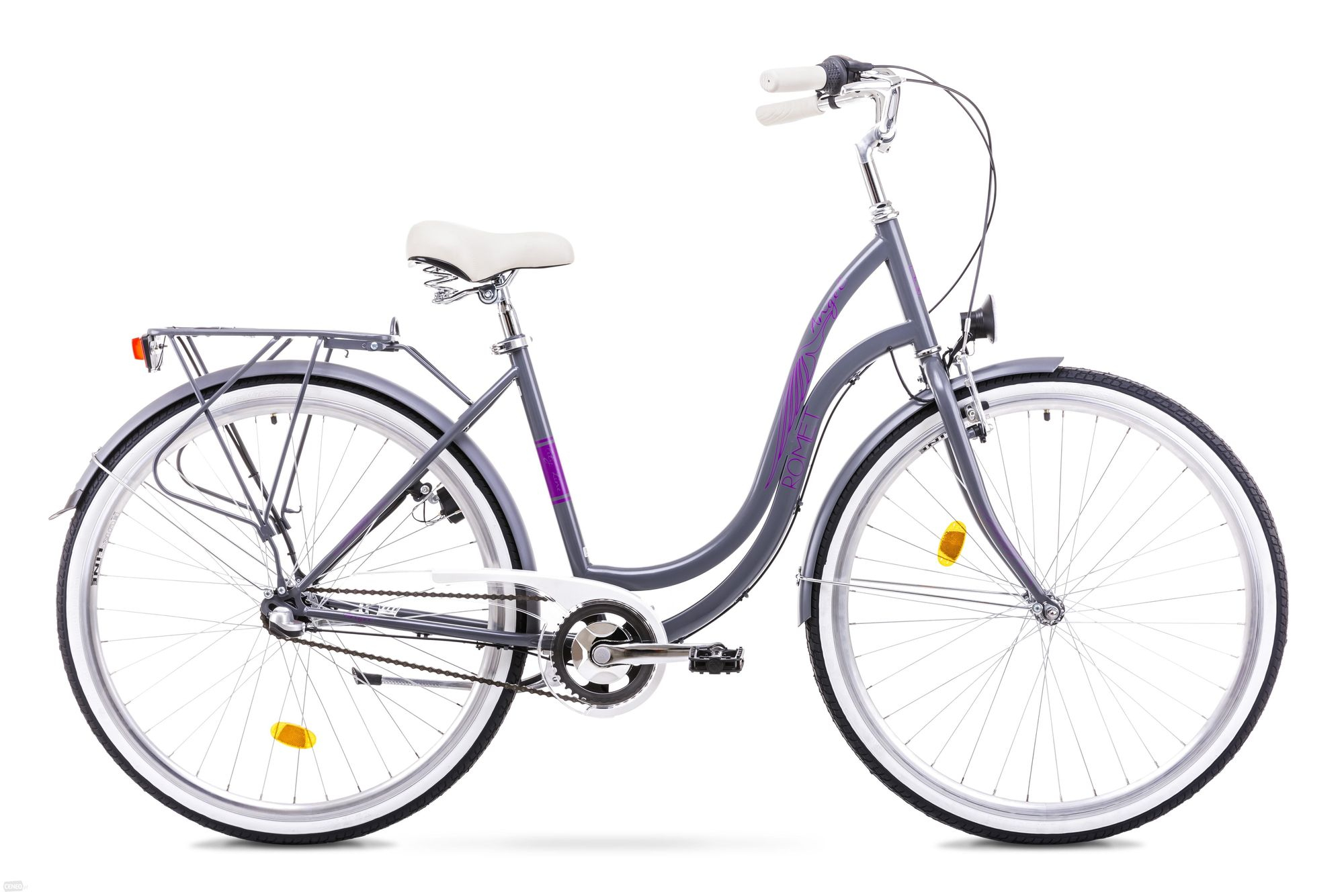 Bicicleta de oras pentru femei Romet ANGEL 3 28 Gri 2018
