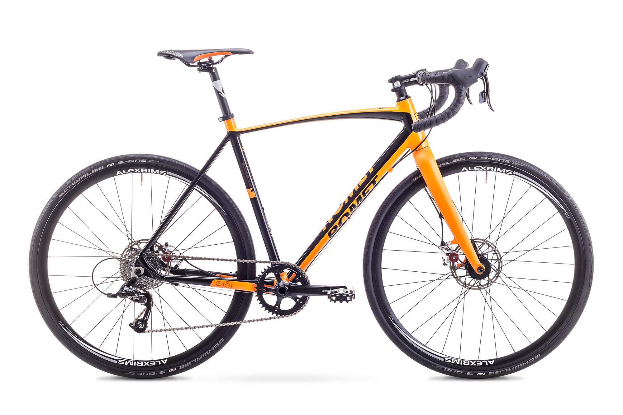 Bicicleta de cyclo cross pentru Barbati Romet BOREAS 1 Portocaliu 2018