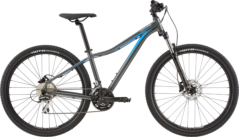 Bicicleta de munte pentru femei Cannondale Trail 4 Gri/Bleu 2020