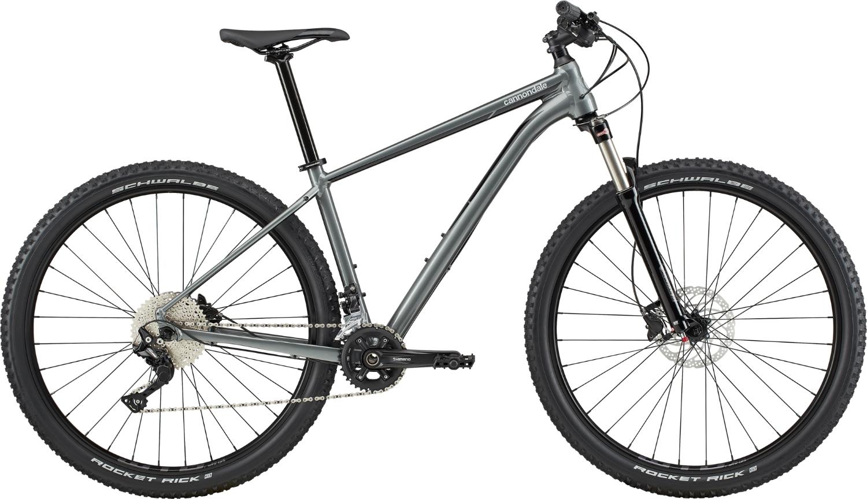 Bicicleta de munte Cannondale Trail 4 Gri metalizat 2020