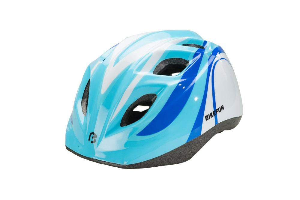Casca BikeFun Junior Albastru/Alb