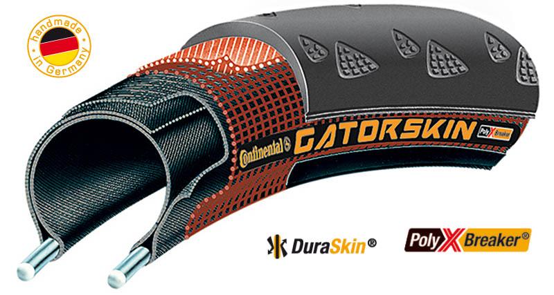 Anvelopa pliabila Continental Gatorskin 28-622 (700x28C) negru