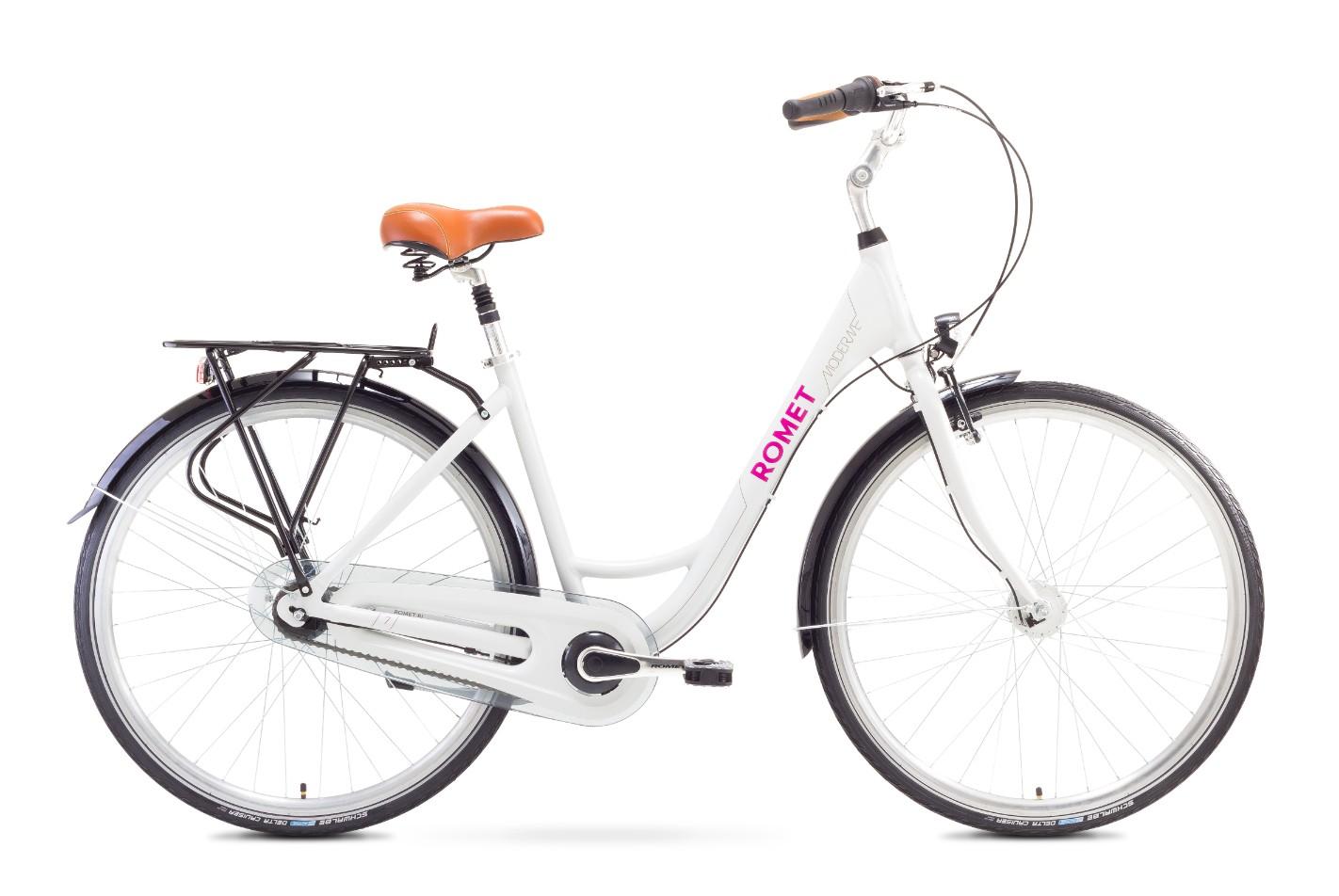 Bicicleta de oras Romet MODERNE 7 Alb 2017