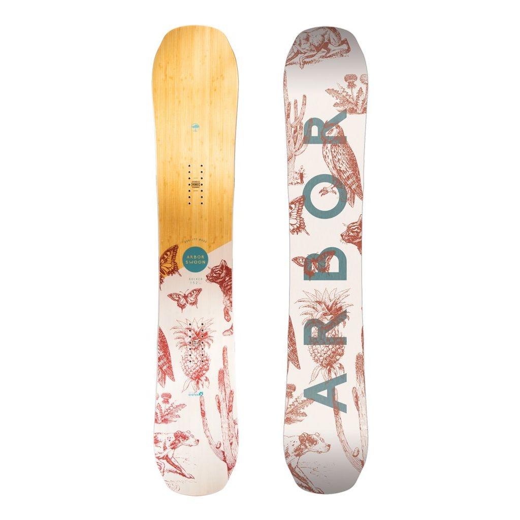 Placa snowboard femei Arbor Swoon Rocker 2018