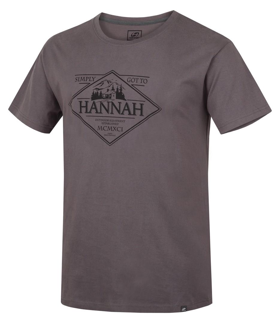 Tricou barbati Hannah Coal II Gri deschis 2017