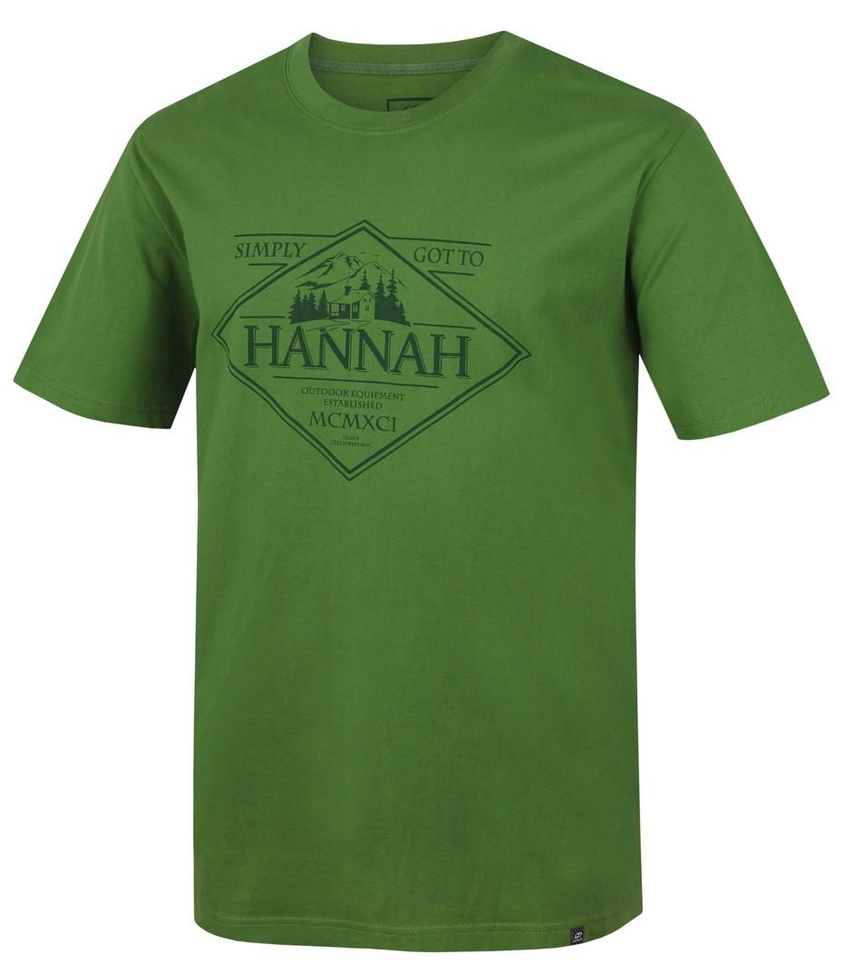 Tricou barbati Hannah Coal II Verde 2017