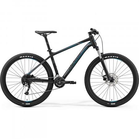 Bicicleta de munte pentru barbati Merida Big.Seven 200 Negru mat(Argintiu/Albastru) 2019