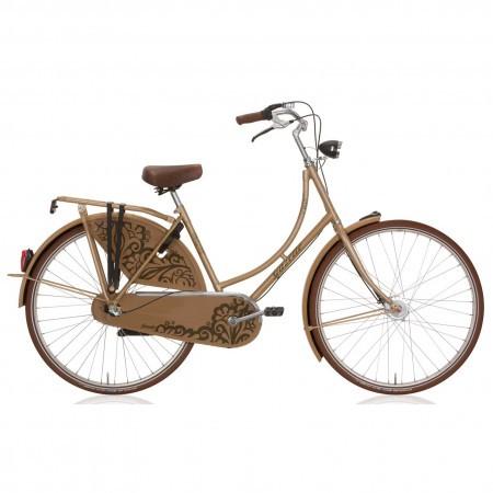 Bicicleta Gazelle Basic R3T Harvest Gold