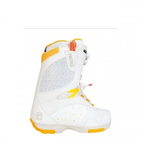 Boots Nitro CROWN TLS white-orange-yellow