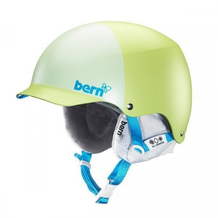 Casca BERN Muse Matte Lime Green Hatstyle