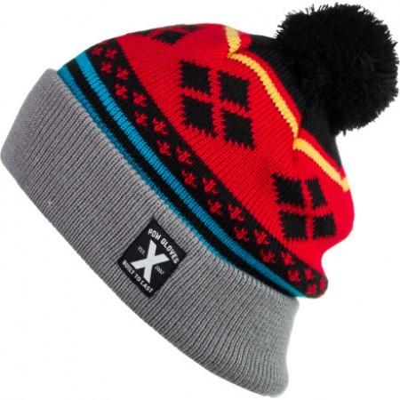 Caciula POW Hippy Knit Red