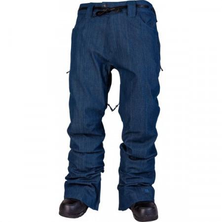 Pantaloni snowboard L1 AMERICANA blue washed denim