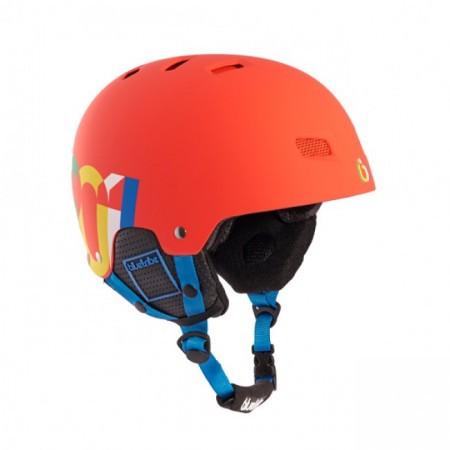 Casca schi/snow Blue Tribe Rider Red