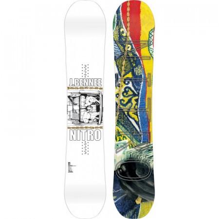 Placa Snowboard Nitro Pro One Off Justin Bennee