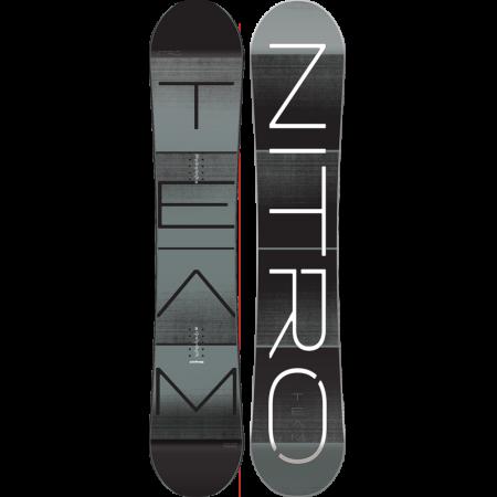 Placa Snowboard Nitro Team Grey