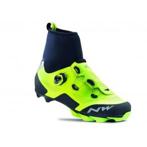 Pantofi ciclism MTB Northwave Raptor GTX Galben fluorescent