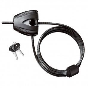 Antifurt Master Lock cablu Python 1.8m x 5mm Negru