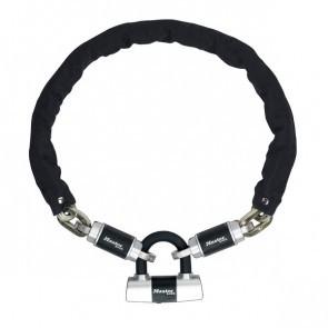Antifurt Master Lock lant cu mini u-lock Criterion 900 x 10mm Negru