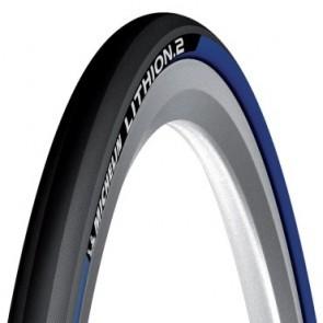 Anvelopa Michelin Lithion 2 v2 albastru 700x23
