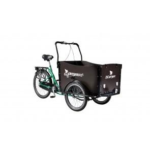 Bicicleta cargo unisex Pegas Cargo Adult 26X20 Verde Smarald