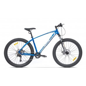 Bicicleta de munte pentru barbati Pegas Drumuri Grele 17 inch Albastru/Alb