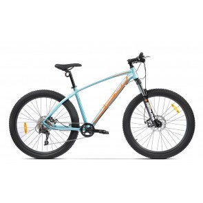 Bicicleta de munte pentru barbati Pegas Drumuri Grele 17 inch Bleu/Portocaliu