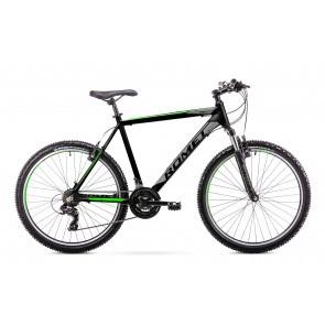 Bicicleta de munte pentru barbati Romet Rambler R6.1 Negru/Verde 2019
