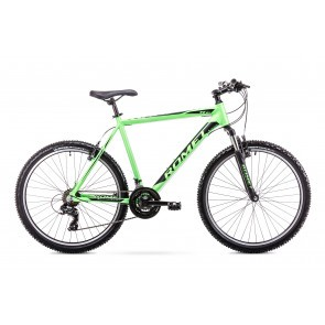 Bicicleta de munte pentru barbati Romet Rambler R6.1 Verde/Negru 2019