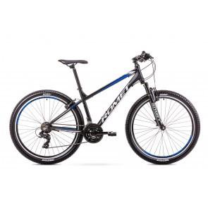 Bicicleta de munte pentru barbati Romet Rambler R7.0 LTD Negru/Albastru 2019