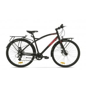 Bicicleta de oras pentru barbati Pegas Hoinar 8S Negru Stelar