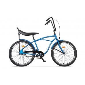 Bicicleta de oras pentru barbati Pegas Strada 1 2S Albastru Franghii