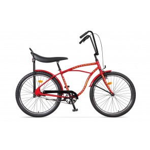 Bicicleta de oras pentru barbati Pegas Strada 1 2S Rosu Dictator