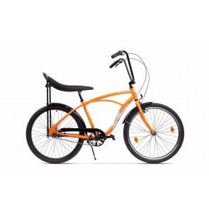 Bicicleta de oras pentru barbati Pegas Strada 1 Aluminiu 3S Portocaliu