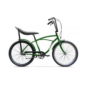 Bicicleta de oras pentru barbati Pegas Strada 1 Aluminiu 3S Verde Natura