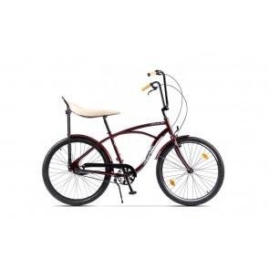 Bicicleta de oras pentru barbati Pegas Strada 1 Aluminiu 3S Visiniu Cochet