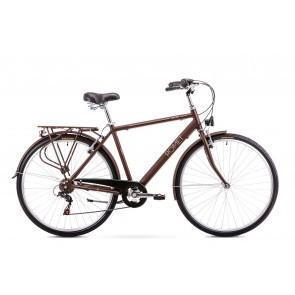 Bicicleta de oras pentru Barbati Romet Grom 6S Maro 2019