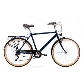 Bicicleta de oras pentru Barbati Romet Orion 6S Bleumarin 2019