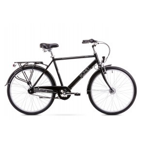 Bicicleta de oras pentru Barbati Romet Orion 7S Negru 2019