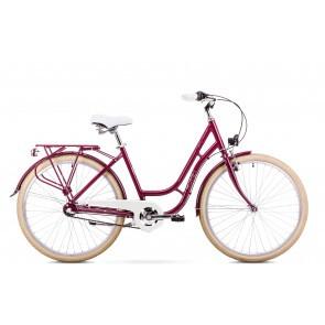 Bicicleta de oras pentru Femei Romet Turing 3S Visiniu 2019