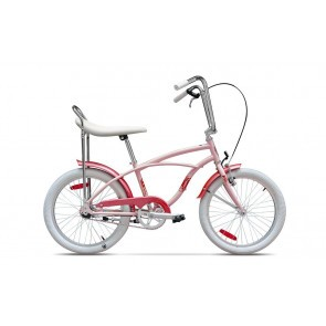 Bicicleta de oras unisex Pegas Strada Mini 20171 viteza Roz Piersica