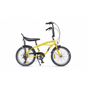 Bicicleta de oras unisex Pegas Strada Mini 2017 7 viteze Galben Bondar