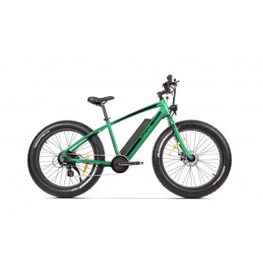 Bicicleta electrica Fatbike unisex Pegas Fatbike Suprem Dinamic E-bike Verde Smarald