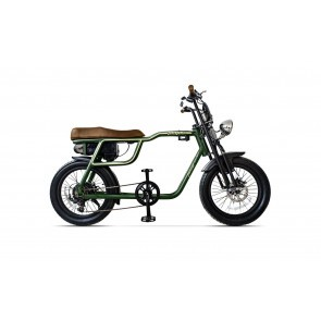Bicicleta electrica unisex Pegas Partizan Verde Mineral