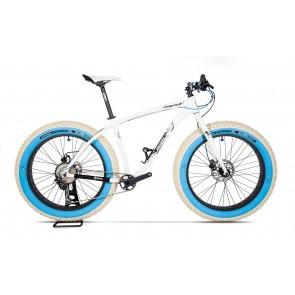Bicicleta fatbike pentru barbati Pegas Suprem FX Custom Alb Perlat
