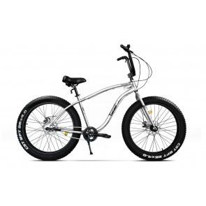 Bicicleta Fatbike unisex Pegas Cutezator EV 3 viteze 2017 Alb Perlat